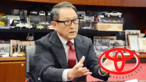 مدیرعامل تویوتا مرد سال صنعت خودرو