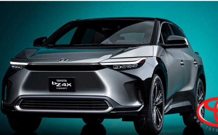 کراس اور مفهومی و برقی تویوتا bZ4X برای تولید در سال 2021 معرفی شد