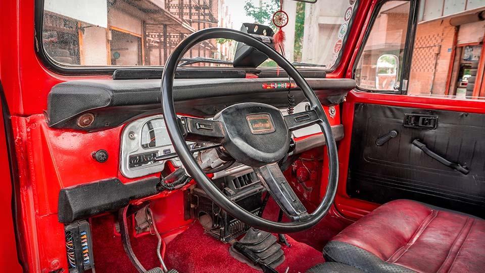 ملاقات با تویوتا لندکروزر J45 مدل 1983